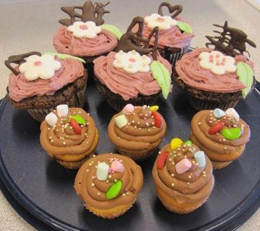 Blogg - små och stora cupcakes