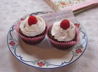 Allergivänliga cupcakes