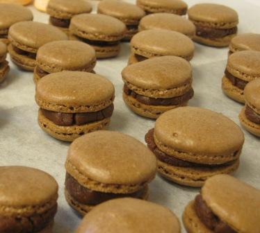 Chokladkolamacarons