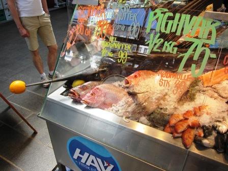 Köpenhamns saluhall - fisk