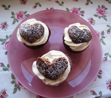 Triss i hjärtliga chokladsemlor