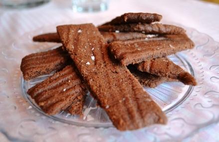 Chokladkolasnittar med flingsalt, Recept, Livsaptit