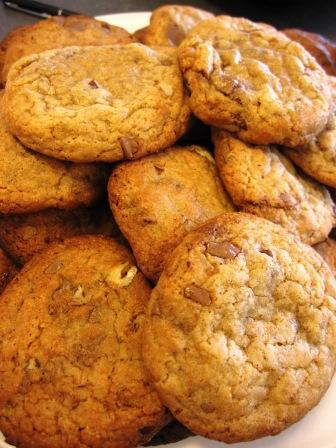 Pekan- och mjölkchokladcookies - Livsaptit