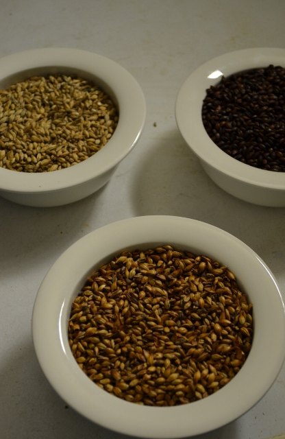 Malt, Karamellmalt och Chokladmalt, Kinnekulle Bryggeri. Livsaptit