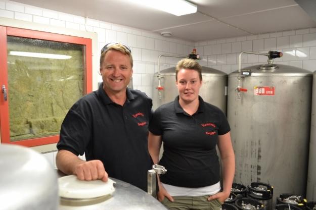 Rebecka och Göran på Kinnekulle Bryggeri, Livsaptit