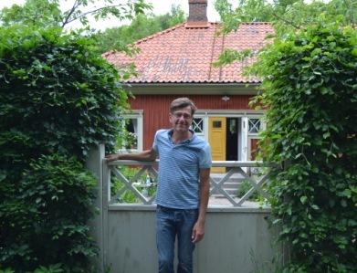 Hemma hos Sarenström, den mest uttjatade bilden. Livsaptit