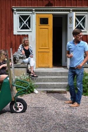 Hemma hos Sarenström + Töringe på besök1. Livsaptit