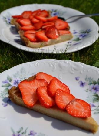 Citroncashewkaka med jordgubbar, Livsaptit