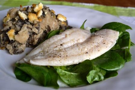 Citronrimmad fisk med bönstomp, Livsaptit