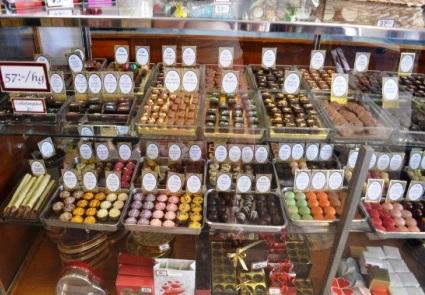 Elit choklad praliner, Karlskrona, Livsaptit
