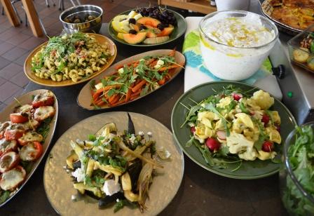 Nya Skafferiet, lunchbuffé tillbehör till pajer, Karlskrona, Livsaptit