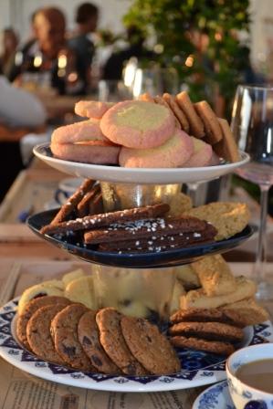 Sju sorters kakor som avslutning, Mitt kök, Livsaptit