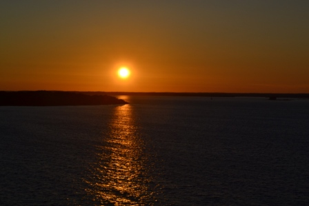 Solnedgång, Karlskrona, Livsaptit