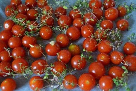 Tomater före rostning, Livsaptit