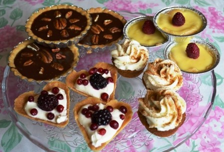 Afternoon tea-desserter, Afternoon tea-kurs, Livsaptit