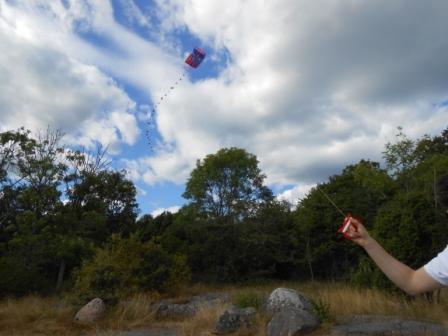 Drakflygning i Studentviken, Karlskrona, Livsaptit