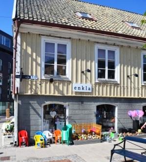 Enkla, inredningsbutik, Karlskrona, Livsaptit