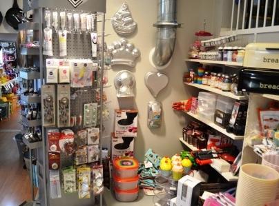 Enkla, inredningsbutik,baknings- och dekoreringshörnan, Karlskrona, Livsaptit