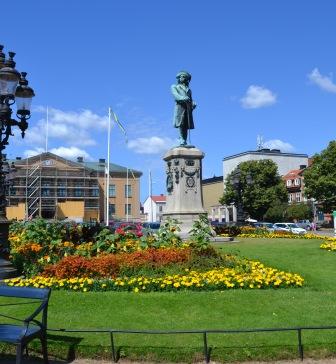 Karl XI, Stortorget, Karlskrona, Livsaptit