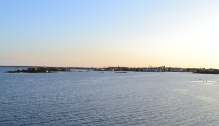 Karlskrona från havet, Livsaptit
