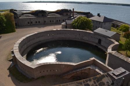 Rund hamn, Kungsholms Fort, Karlskrona, från ovan, Livsaptit