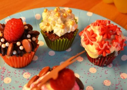 Chokladhalloncupcakes, Livsaptit