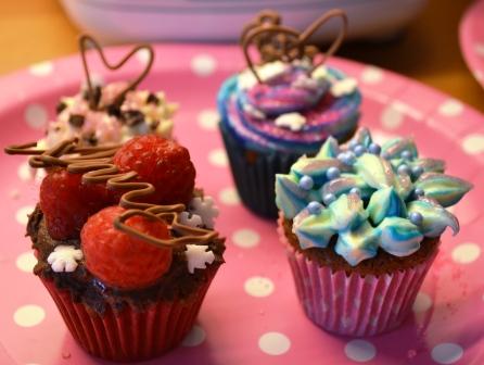 Glittercupcakes, Livsaptit