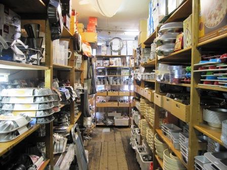Bakningsutrustning i långa rader, Duikelman, Amsterdam, Livsaptit