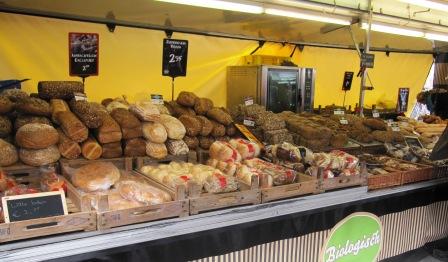 Brödhögar, Matmarknad, Amsterdam, Livsaptit