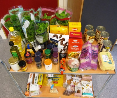 Fler ingredienser, Matiga sallader, Kurs, Livsaptit