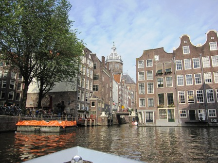 Hus i vatten, Kanaltur, Amsterdam, Livsaptit