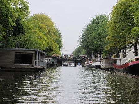 Husbåtar i kanaleerna i Amsterdam, Livsaptit