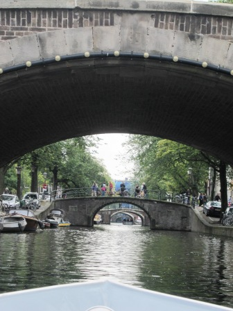 Kanaler, broar, broar och kanaler, Amesterdam, Livsaptit