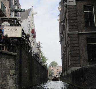 Trånga kanaler, Amsterdam, Livsaptit
