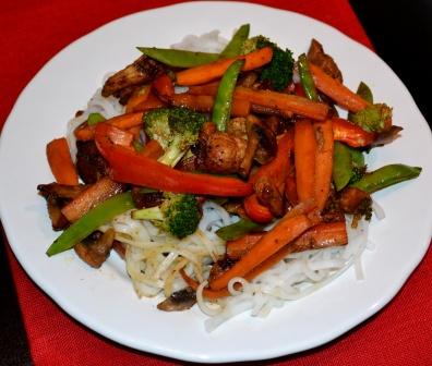 Wok med kyckling och nudlar, Livsaptit
