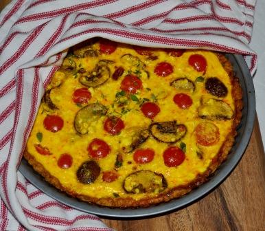 Insvept tomattarte med saffran, recept, Livsaptit