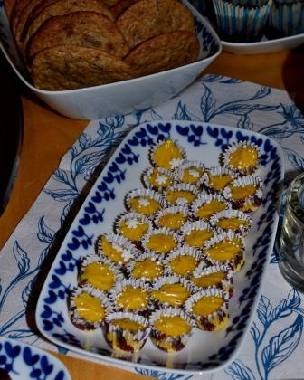 Saffranstryffel framför världens godaste cookies med mjölkchoklad och pekannötter, Kurs, Chocoholic, livsaptit