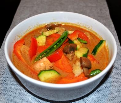 Fisksoppa med thaismaker, Livsaptit, Recept