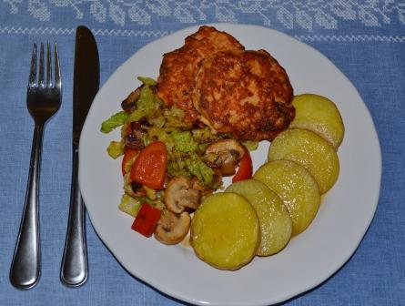 Laxwallenbergare med smörstekta grönsaker, Recept, Livsaptit