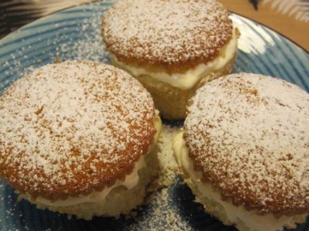 Semlecupcakes, Recept, Livsaptit