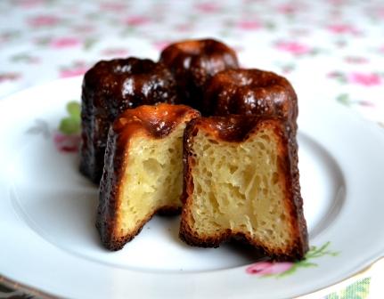 Canelé, innanmäte, vanilj- och romsmakande franska bakverk, Recept, Mia Öhrn, Livsaptit