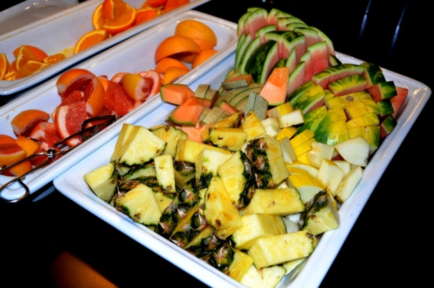 Frukost, Färsk frukt, Vann, Besök av Livsaptit