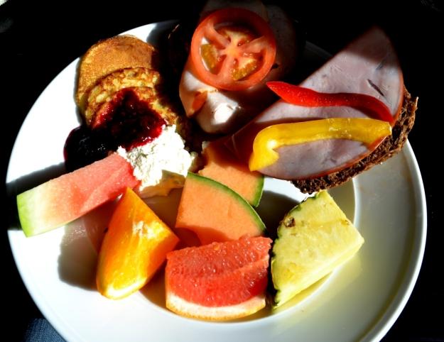 Frukost, Min frukost, Vann, Besök av Livsaptit
