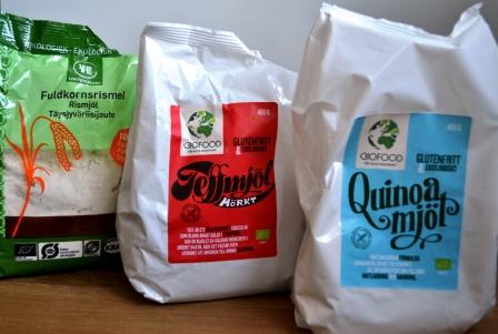 Glutenfria mjölsorter, naturligt glutenfritt, Livsaptit, Våfflor utan gluten