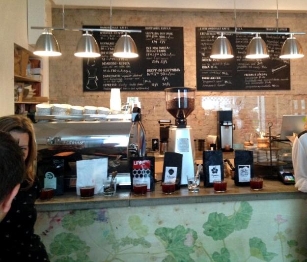 Kaffeprovning, koppning, Kale'i Kaffebar,