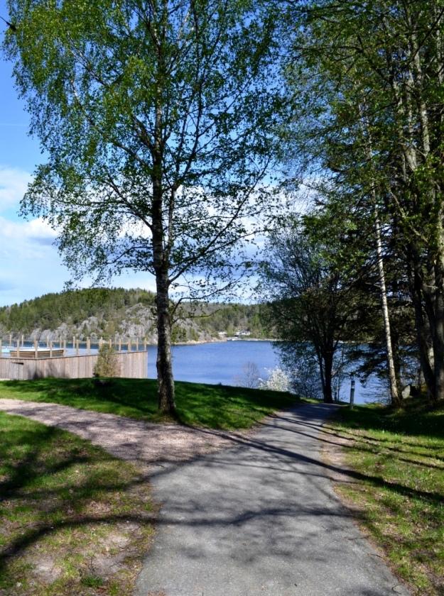 Promenadvägar, Vann, Besök av Livsaptit