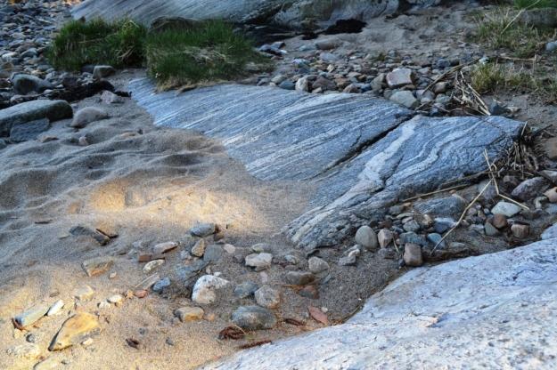 Sand, strand och sten, Vann, Besök av Livsaptit