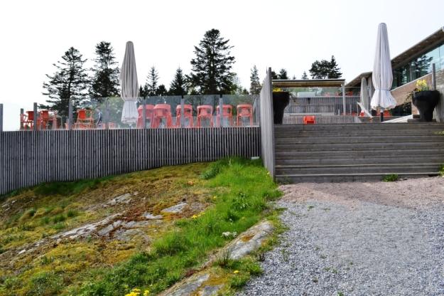 Terrassen, Vann, Besök av Livsaptit