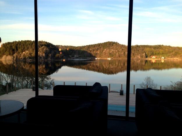 Utsikt från middagsbordet, Vann, Besök av Livsaptit