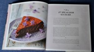 Chokladtårta, Exempel på ett uppslag, Recension av Smarta sötsaker utan socker, gluten och mjölk av Ulrika Hoffer, recension av Livsaptit